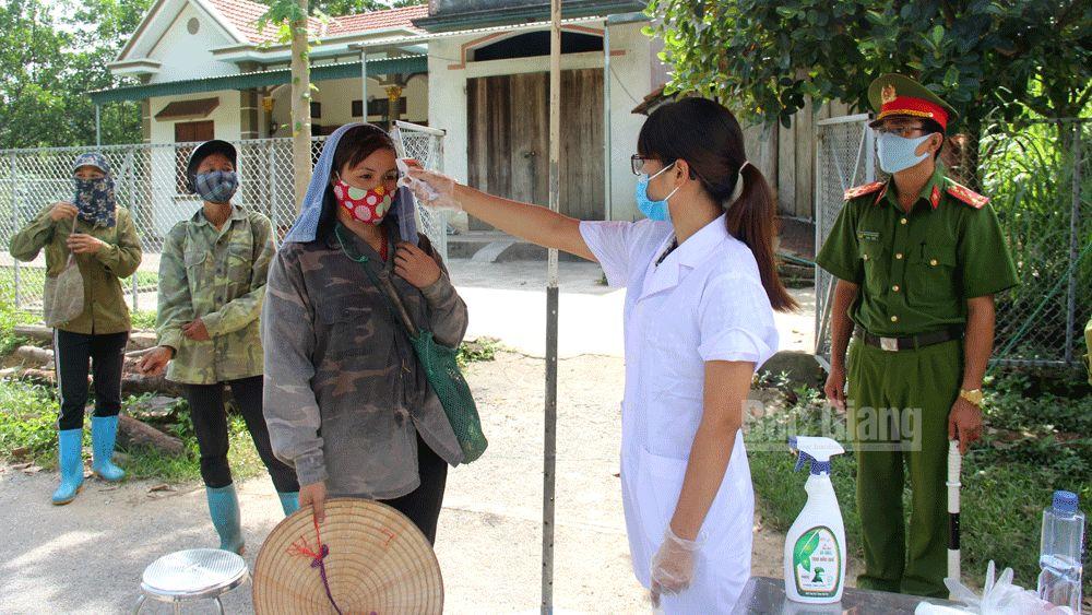 xét nghiệm, phòng dịch, covid-19,, Bắc Giang