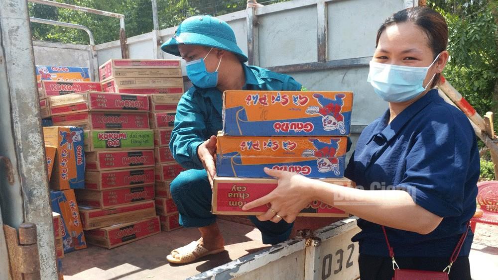Covid-19,  Bắc Giang, cách ly toàn xã hội, Yên Định, Sơn Động