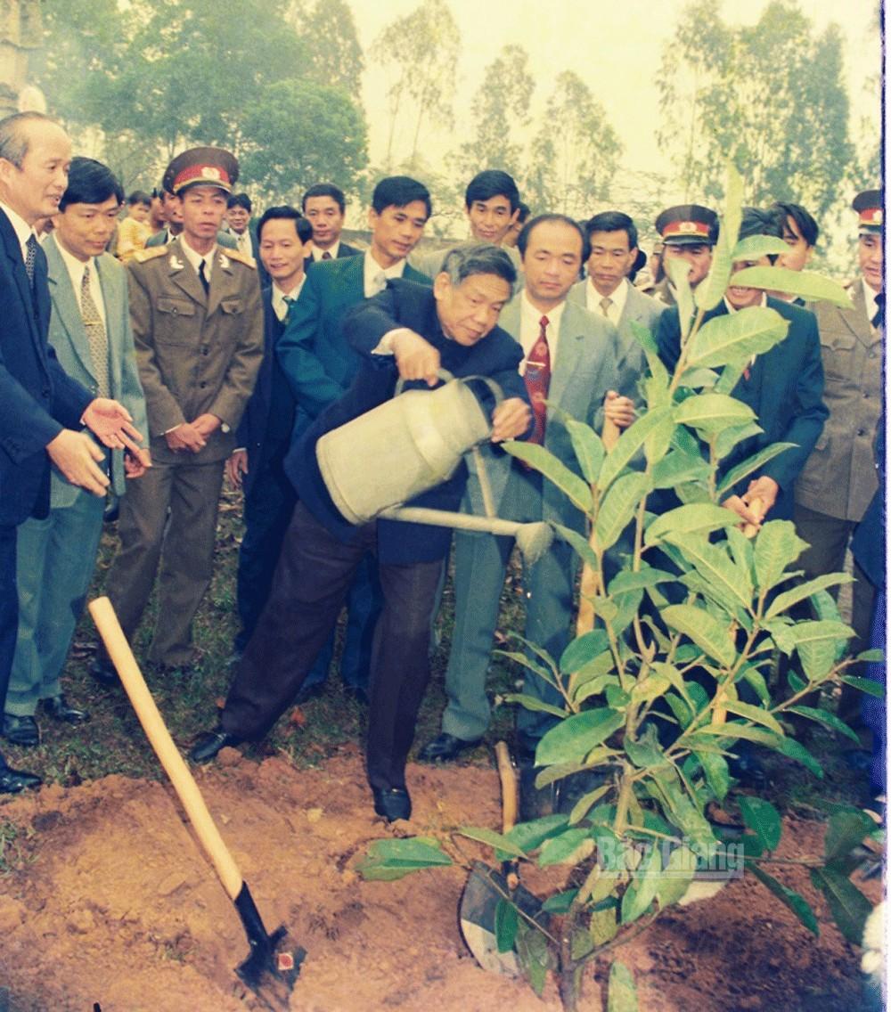 Nguyên Tổng Bí thư Lê Khả Phiêu, Bắc Giang
