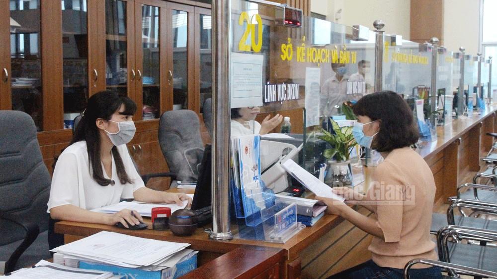 Cải cách hành chính, Bắc Giang, bộ phận một cửa, 4 tại chỗ, 5 tại cỗ