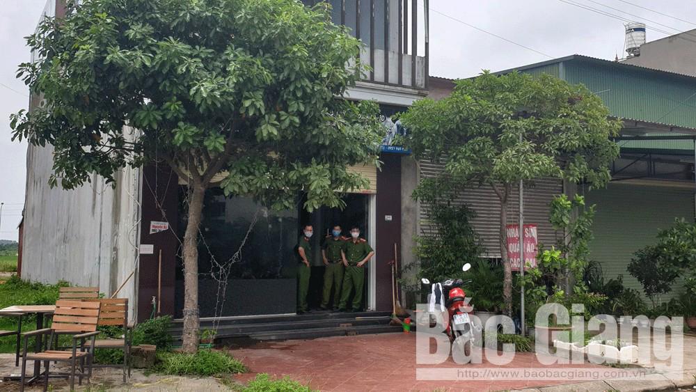 Bắc Giang: Kiểm tra lưu trú phát hiện đối tượng sử dụng ma túy, tàng trữ vũ khí thô sơ