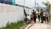Việt Yên: Giải tỏa vi phạm hành lang an toàn giao thông đường gom quốc lộ 1