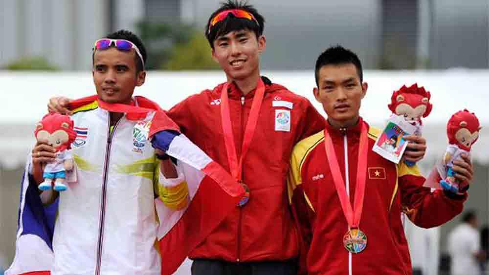 Thanh aims for SEA Games marathon gold
