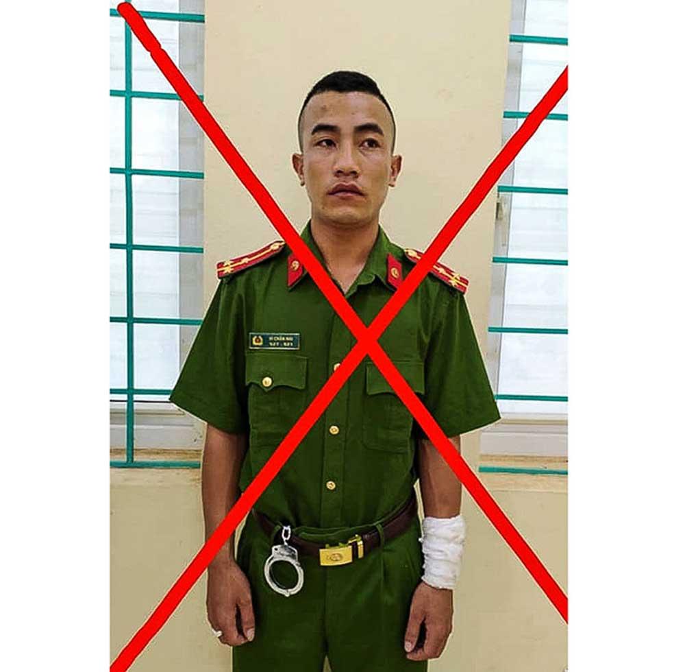 Điện Biên, bắt giữ, đối tượng giả danh công an, Vì Chấn Hai
