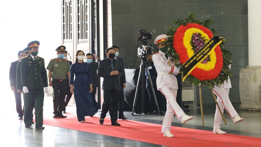 Lễ Quốc tang, nguyên Tổng Bí thư Lê Khả Phiêu, Gần 660 đoàn trong nước, quốc tế