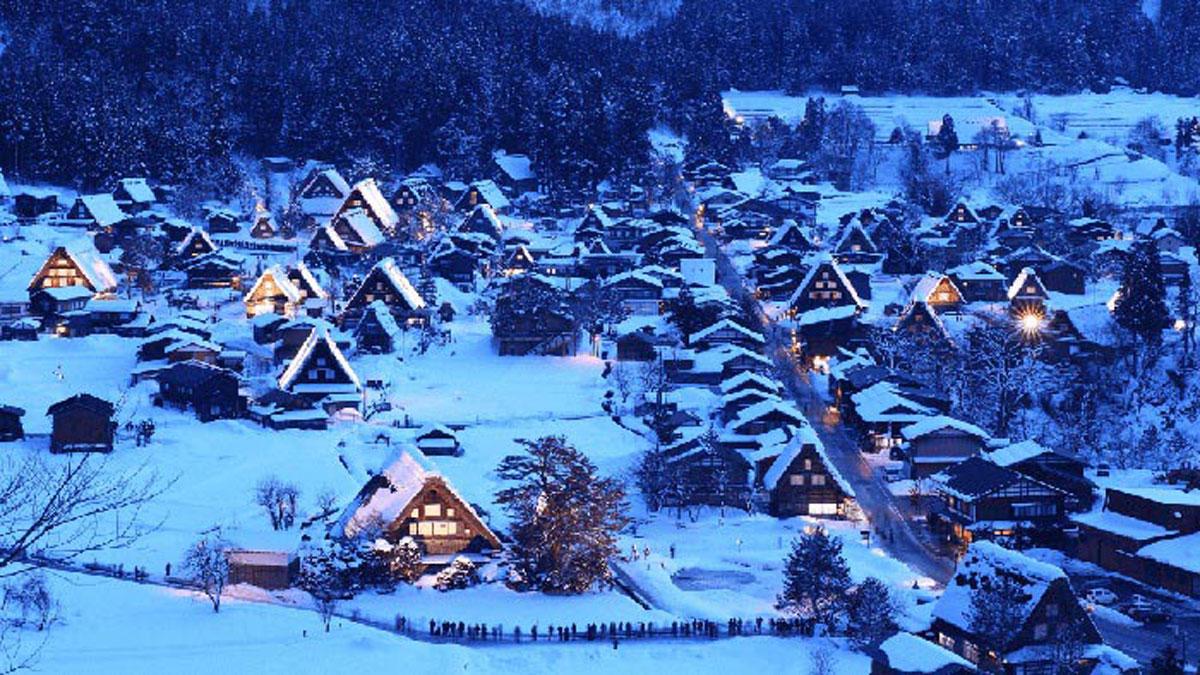 ngôi làng tuyệt đẹp, quê hương chú mèo máy Doraemon, huyền thoại, đường nơi hạ giới