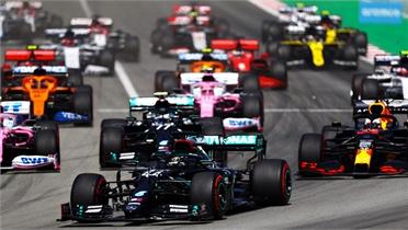 Hamilton thắng dễ tại Catalunya