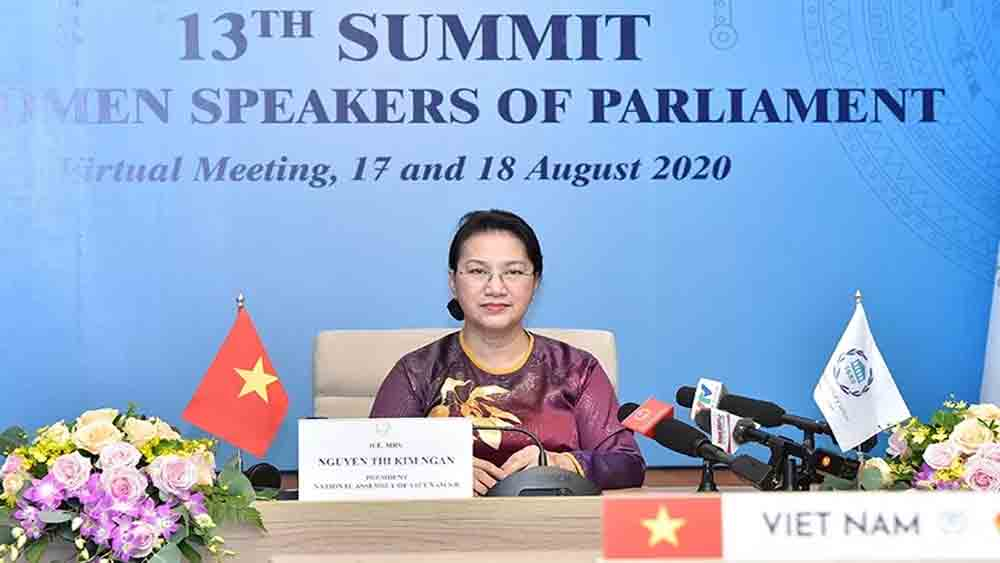 NA Chairwoman Ngan attends 13th summit of world's NA female heads