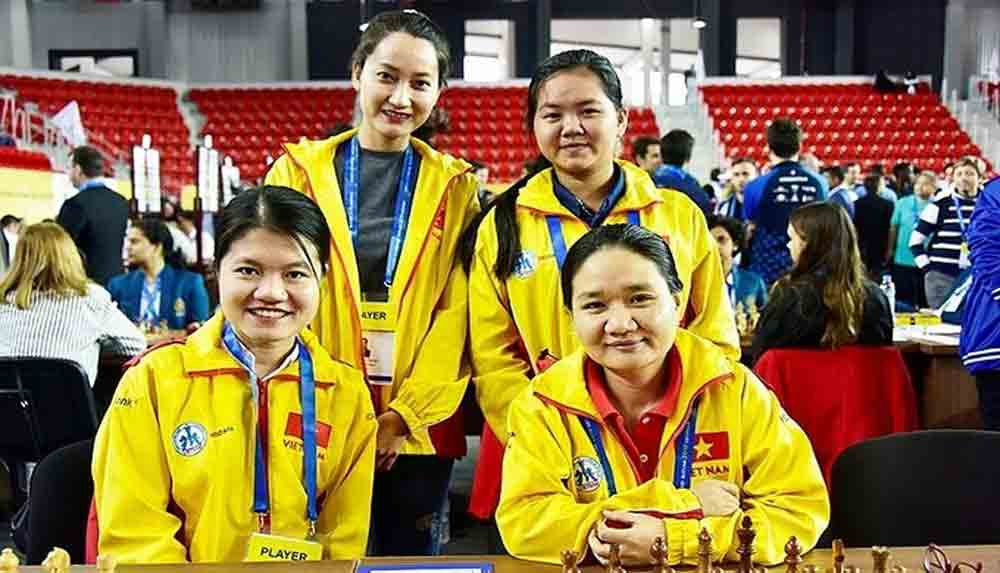 Vietnam to play top teams at International Online Chess Olympiad