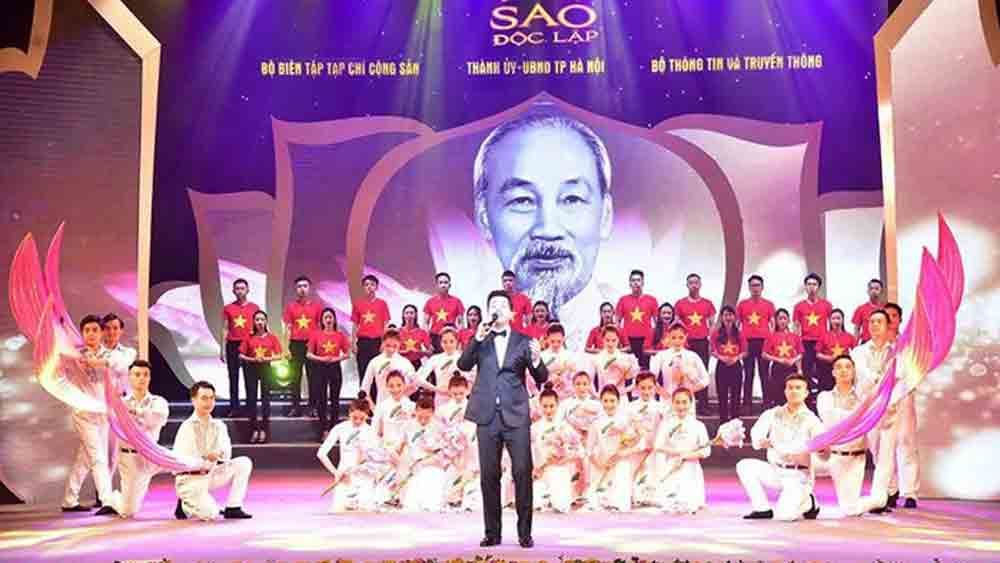 Special art programme, Hanoi, celebrates National Day, Independent Star, country's culture and history, national independence and freedom