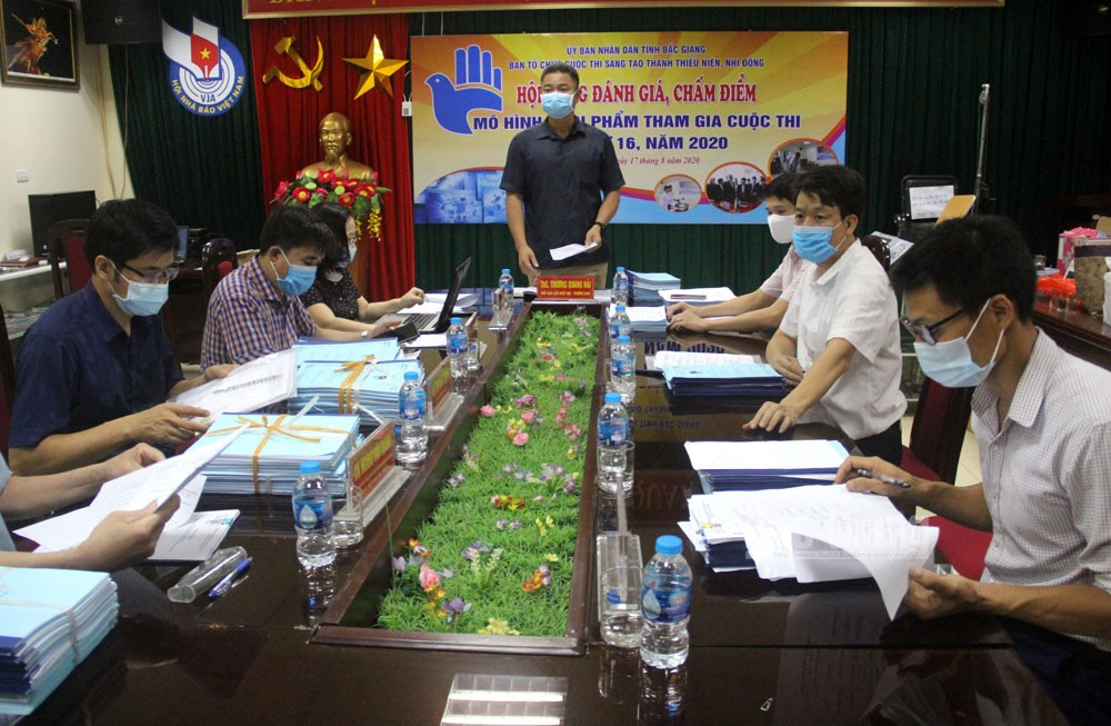 30 models and solutions,  16th Inventive Contest, Youth and Teenager, Bac Giang province, final round, inventive ideas