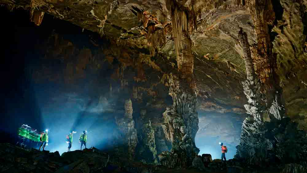 Quang Binh natural wonders thrill visitors with cavernous beauty