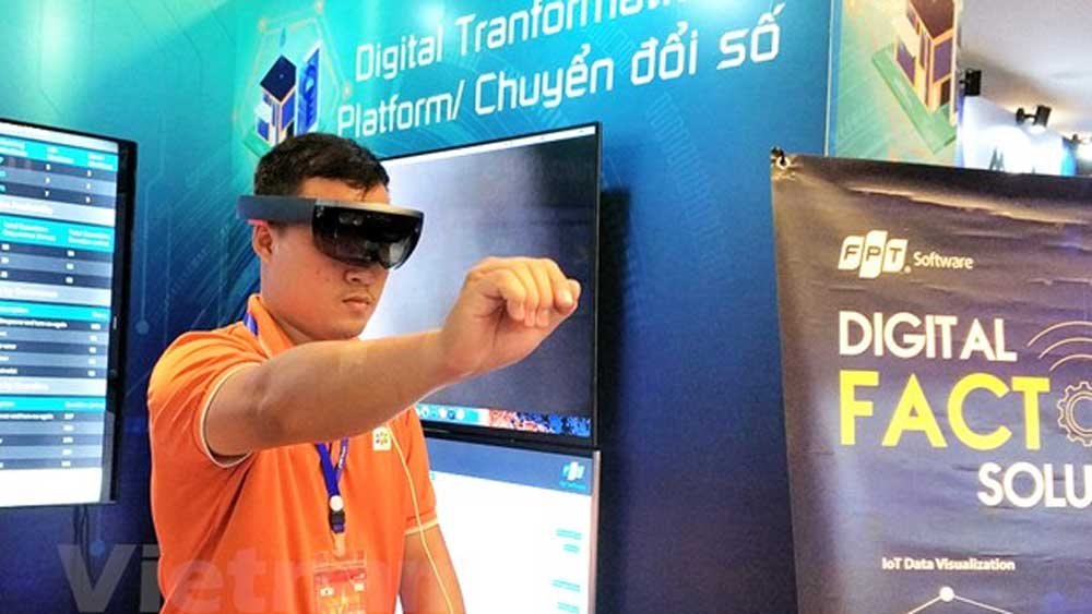 Vietnam, digital technology companies, by 2030, gross domestic product, draft national strategy, digital technology companies, high-income country