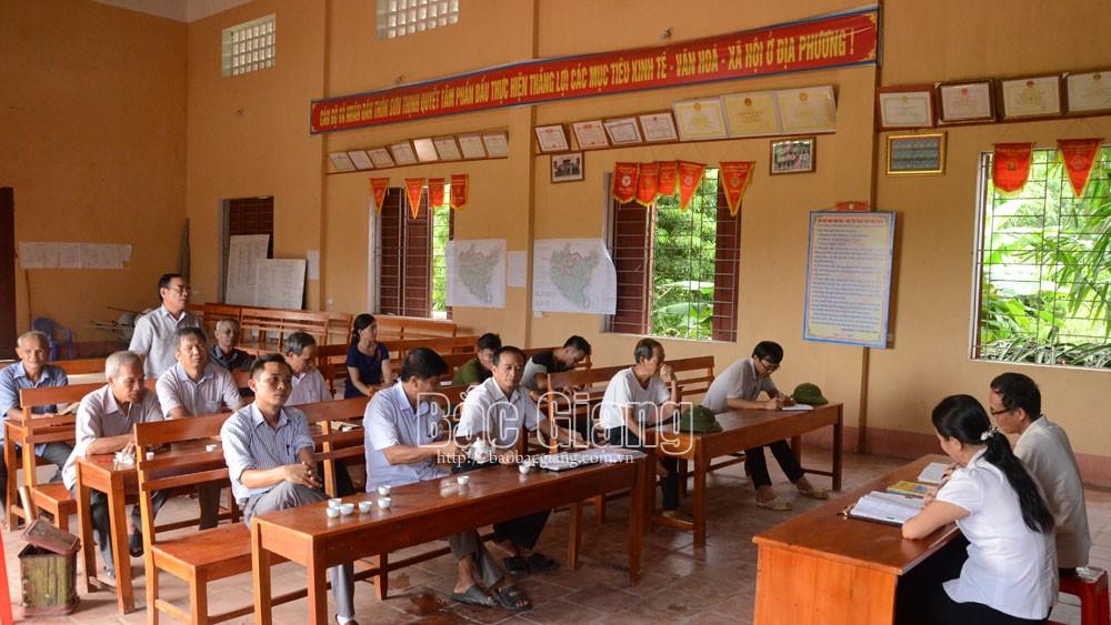 Yên Dũng:  Phấn đấu đến năm 2022 có 80% trở lên trưởng thôn là đảng viên