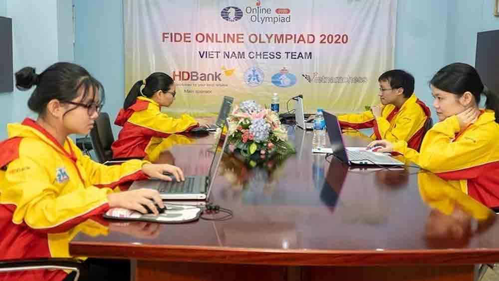 Vietnam falls flat at international online chess contest
