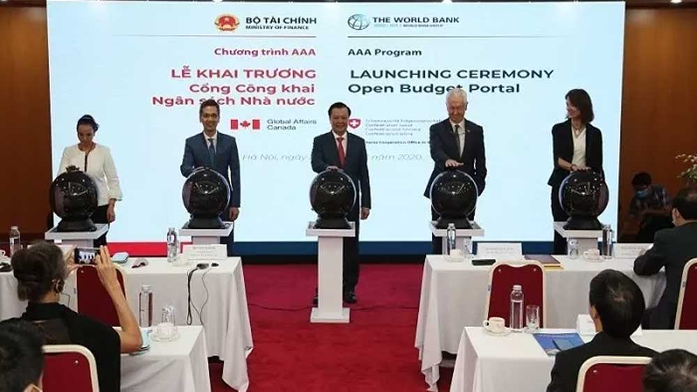 Vietnam, open budget portal, advanced models,  budget transparency and publicity, public resources, national budget finance