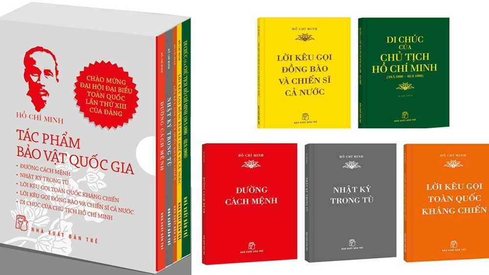 Book set features Ho Chi Minh's writings recognised as national treasures