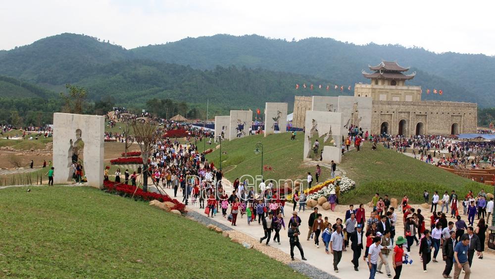 Khu du lịch - tâm linh sinh thái Tây Yên Tử - điểm nhấn của du lịch tỉnh Bắc Giang.