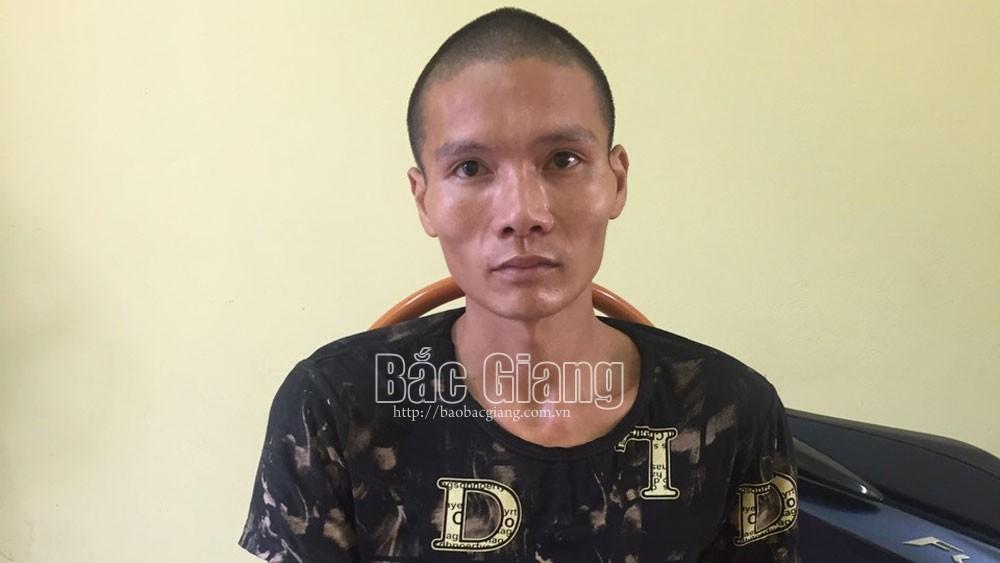 Bắc Giang: Tạm giữ đối tượng nghiện nhiều lần trộm cắp tài sản