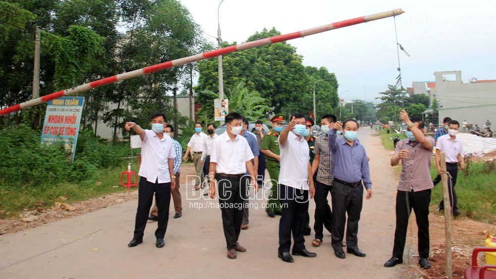 Bắc Giang: Hết cách ly, dỡ các chốt kiểm dịch tại xã Yên Định (Sơn Động)