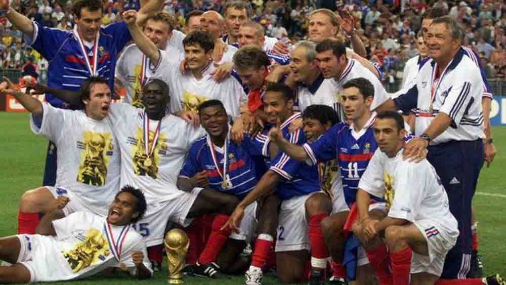 French, 1998 football World Cup champions, play friendly, Vietnam, friendly match, World Cup winning team