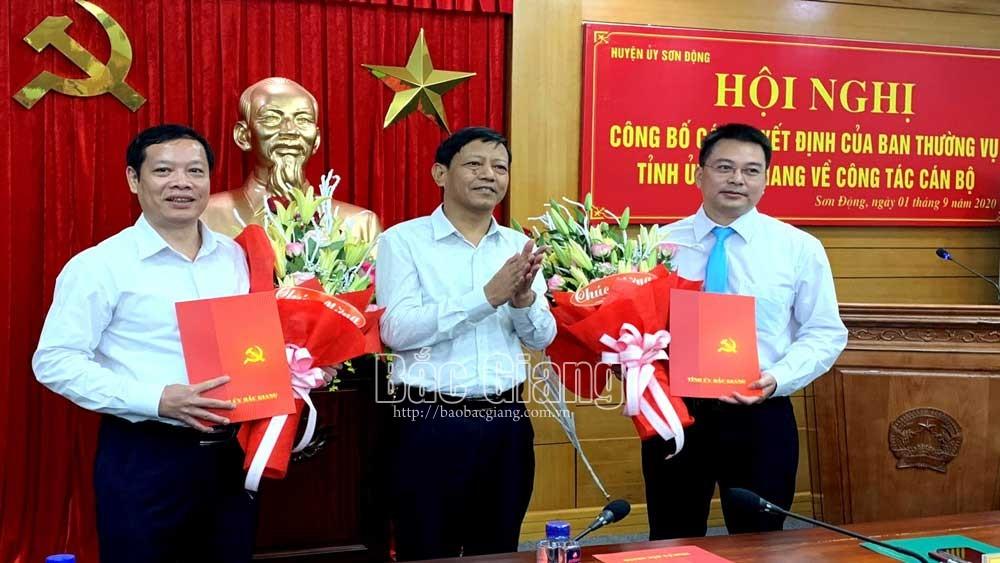Bí thư Tỉnh đoàn Ngụy Văn Tuyên  giữ chức Bí thư Huyện ủy Sơn Động