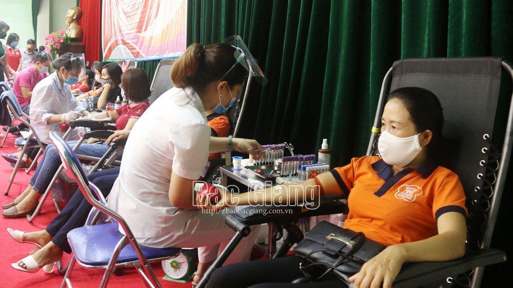 Ngày hội hiến máu tình nguyện huyện Việt Yên: Tiếp nhận 2.228 đơn vị máu