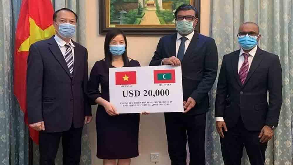 Vietnam assists Maldives in Covid-19 fight