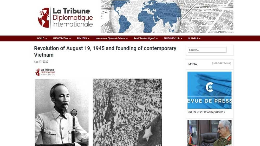 Middle East-African press praises Vietnam's achievements
