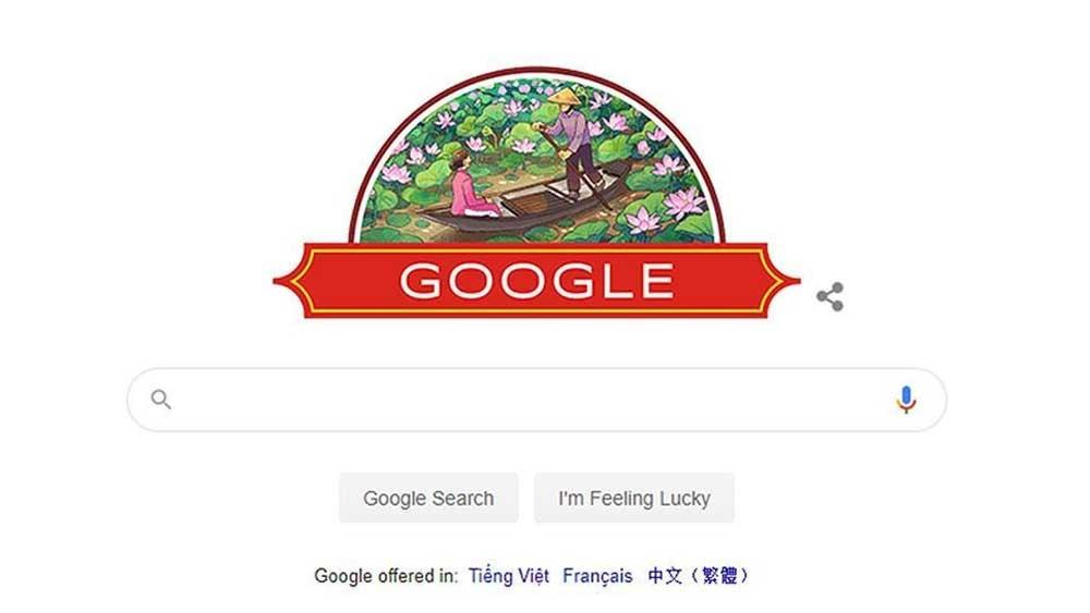 Google Doodle honours Vietnam's National Day
