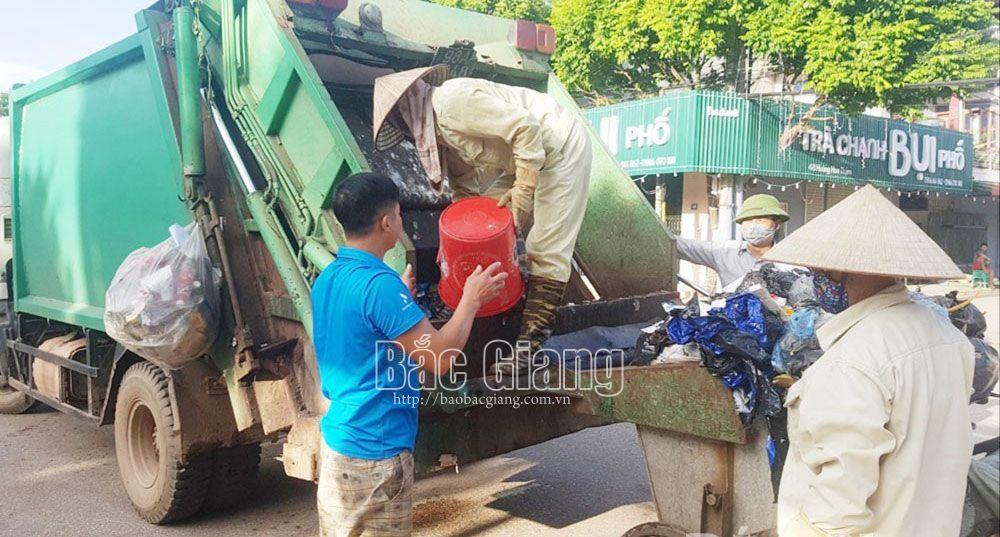 Yên Thế tỷ lệ thu gom rác thải sinh hoạt đạt gần 77,5%