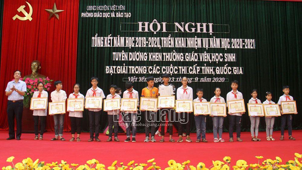 Việt Yên có 59/62 trường đạt chuẩn quốc gia