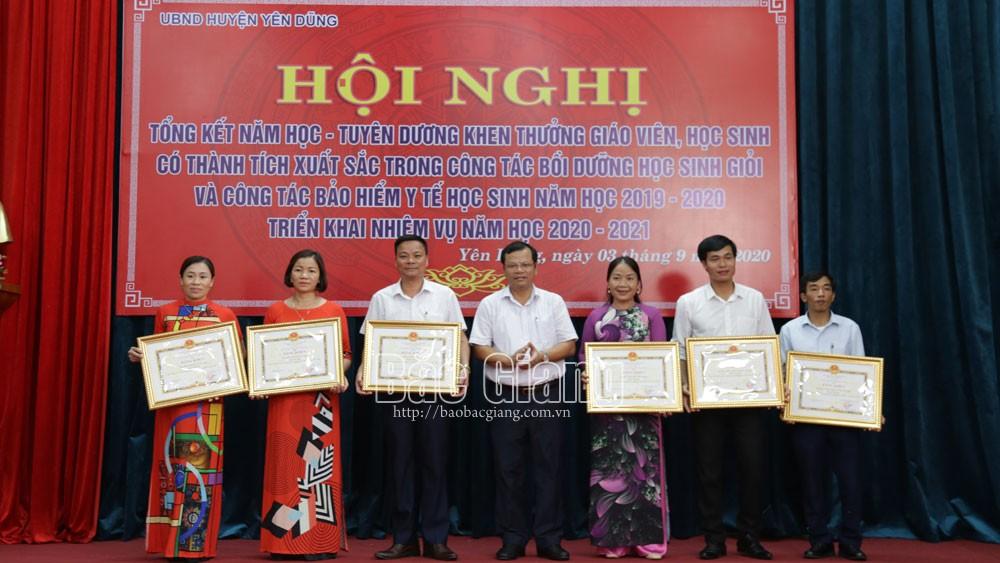 Yên Dũng (Bắc Giang): Đạt chuẩn phổ cập giáo dục THCS mức độ 3