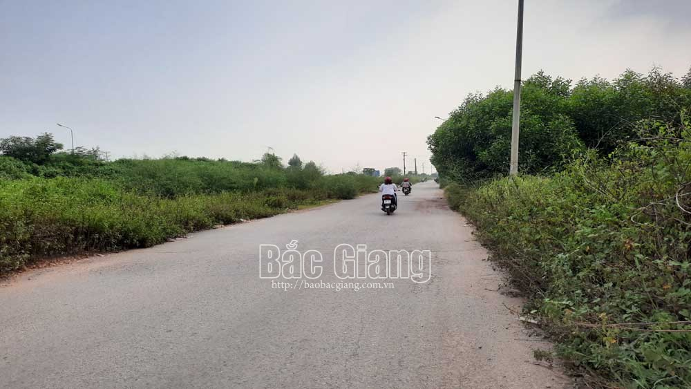 Nearly 98 billion VND invested in upgrading and expanding frontage road in Bac Giang city