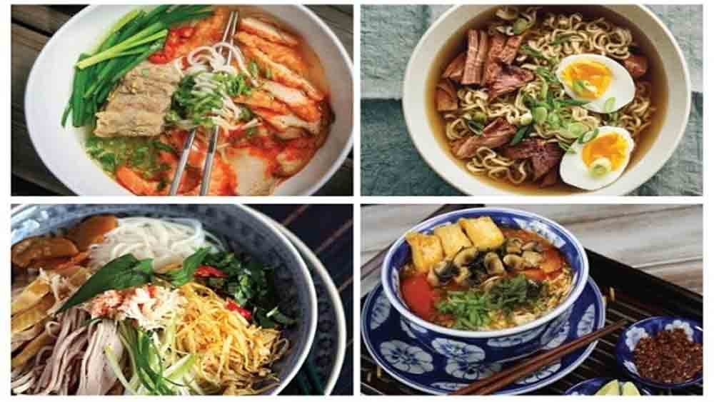 Vietnam's cuisine, five world records, World Records Union,  Worldkings, strand and broth dish, numerous varieties,  most kinds of mam
