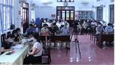 Bắc Giang: Người dân khu chung cư cũ phường Trần Nguyên Hãn bốc thăm chọn căn hộ mới