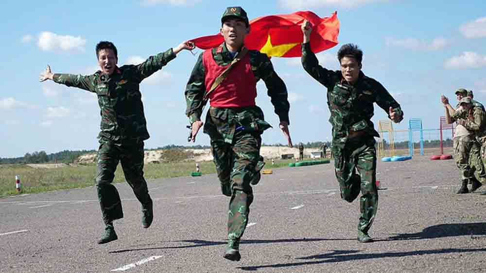 Vietnam ends Army Games with three bronze medals, one champion cup