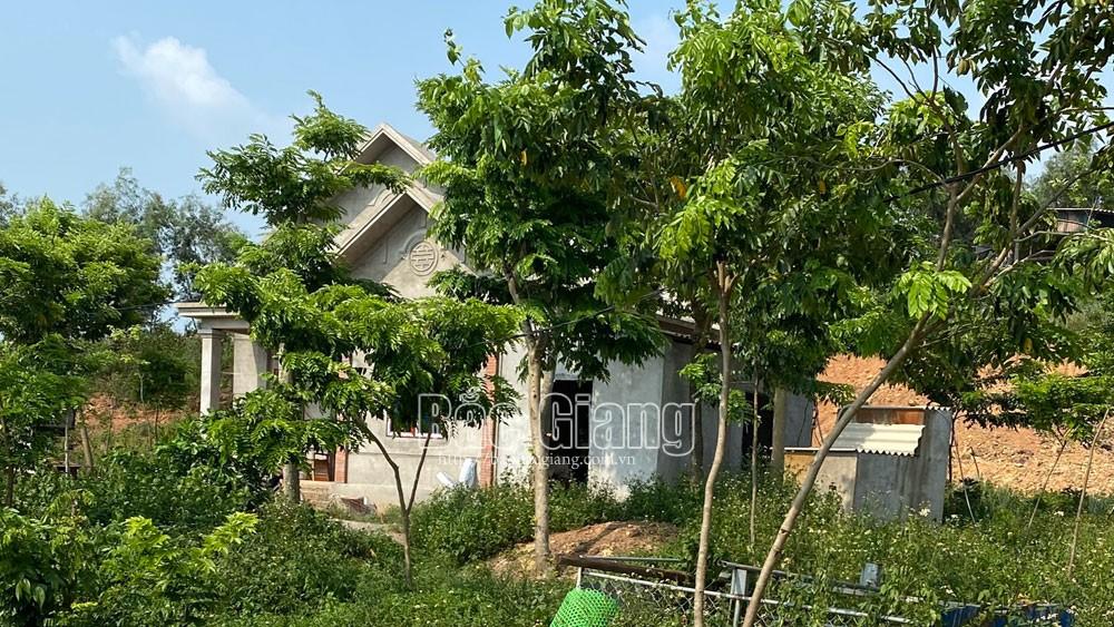 Yên Dũng, chấn chỉnh, vi phạm đất đai, xã Lãng Sơn