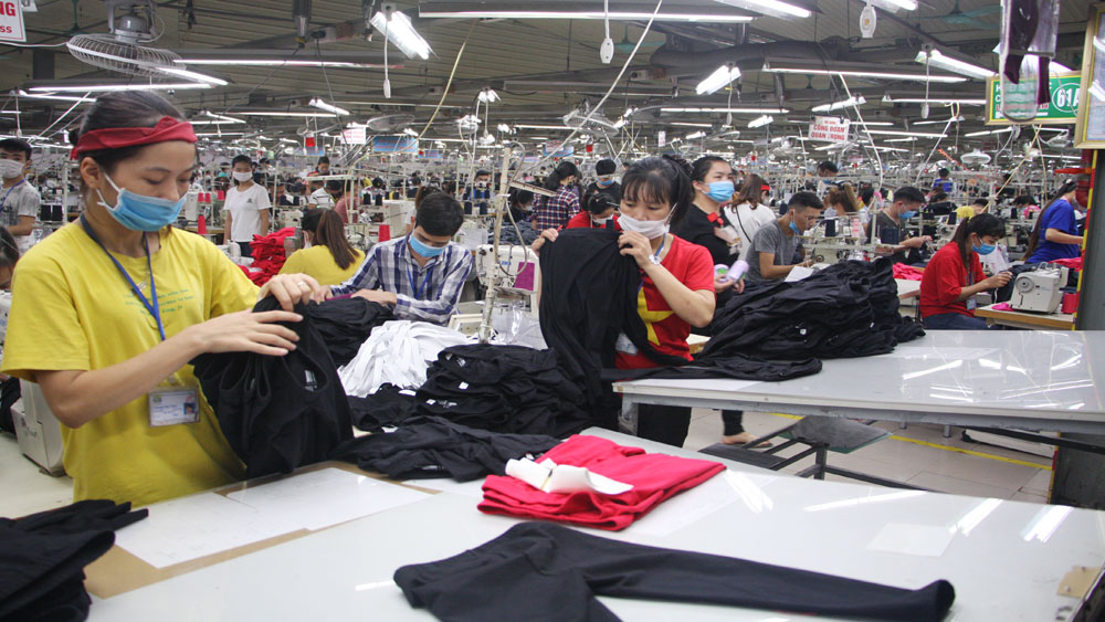 Two garment enterprises, Bac Giang province, Prestige export company, Bac Giang LGG Garment Corporation,  Ha Phong Export Garment