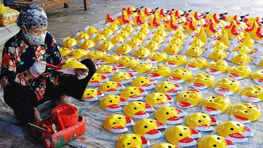Ong Hao village busy ahead of Mid-Autumn Festival