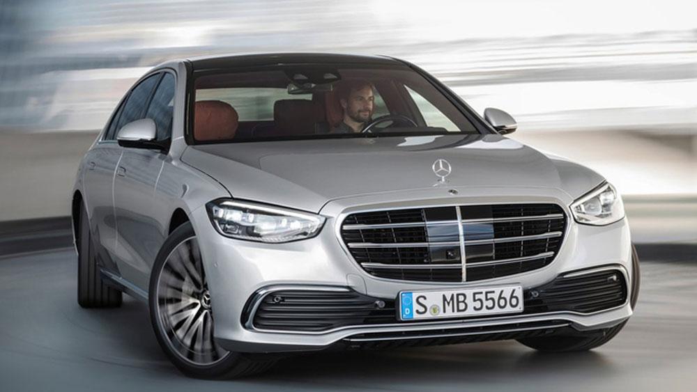 Mercedes S-class, Công nghệ xe, đánh lái bánh sau