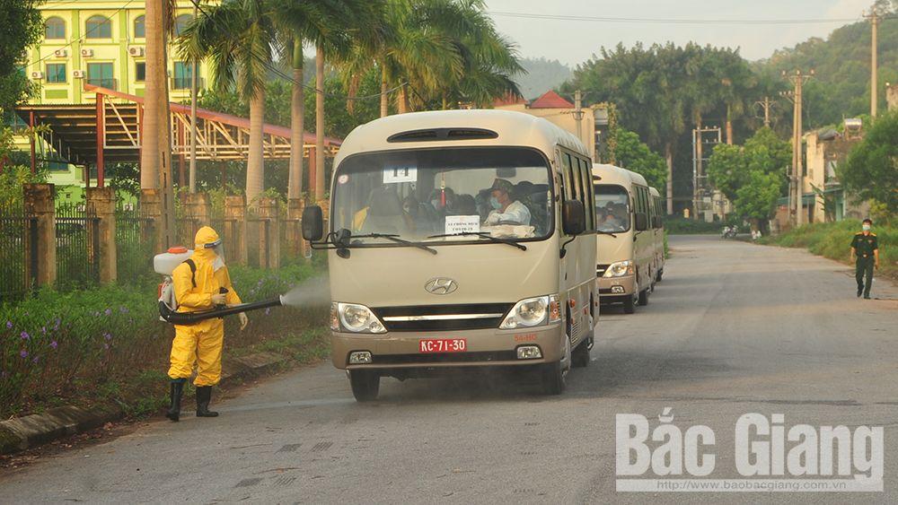 Bắc Giang, Bộ CHQS tỉnh, Trung đoàn 831, công dân, cách ly y tế, Australia