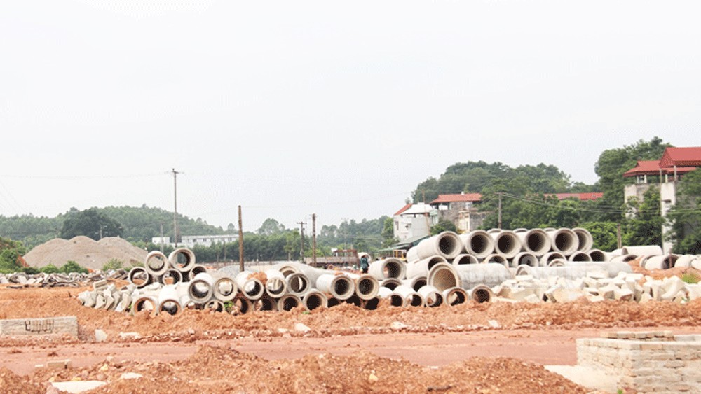 Bac Giang provincial leader orders to speed up key and big projects' schedule