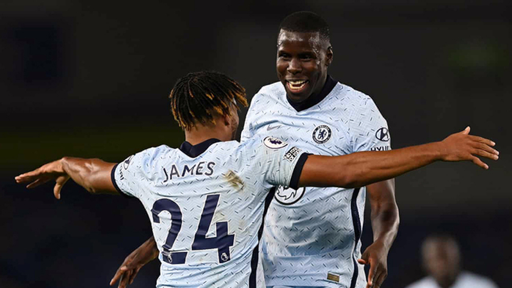 Chelsea, Ngoại hạng Anh,Brighton,Reece James
