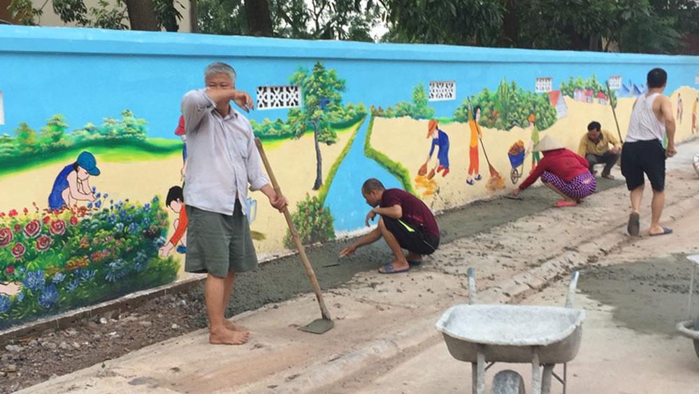 Thị trấn Nhã Nam: Chung sức cho đô thị văn minh