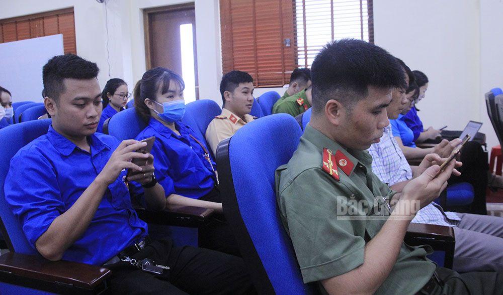 Bắc Giang, đoàn viên thanh niên, tìm hiểu về cải cách thủ tục hành chính, dịch vụ công trực tuyến