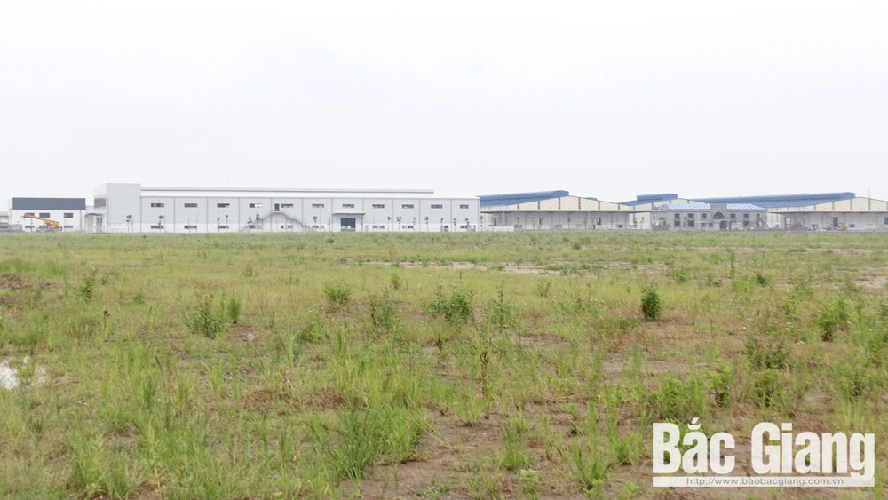 Bac Giang province, new investment registration certificate, 23 projects, industrial parks, FDI projects, domestic investment projects, total registered capital