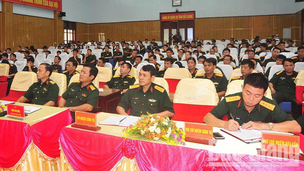 Đảng ủy Quân sự tỉnh Bắc Giang, Nghị quyết, Đại hội, Đảng bộ Quân khu 1