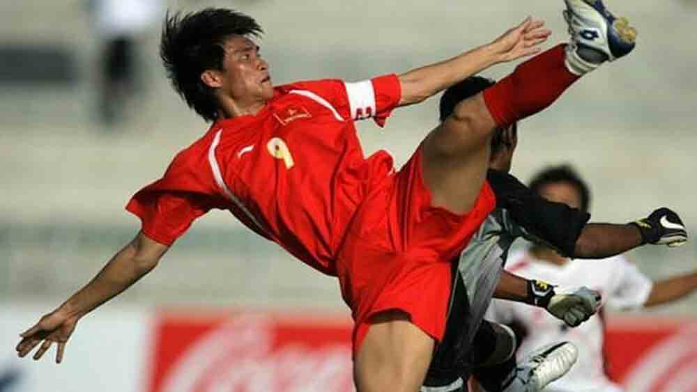 Vietnamese striker, Le Cong Vinh, top four greatest goal, Asian Cup, three days of voting, simple finish, iconic goals