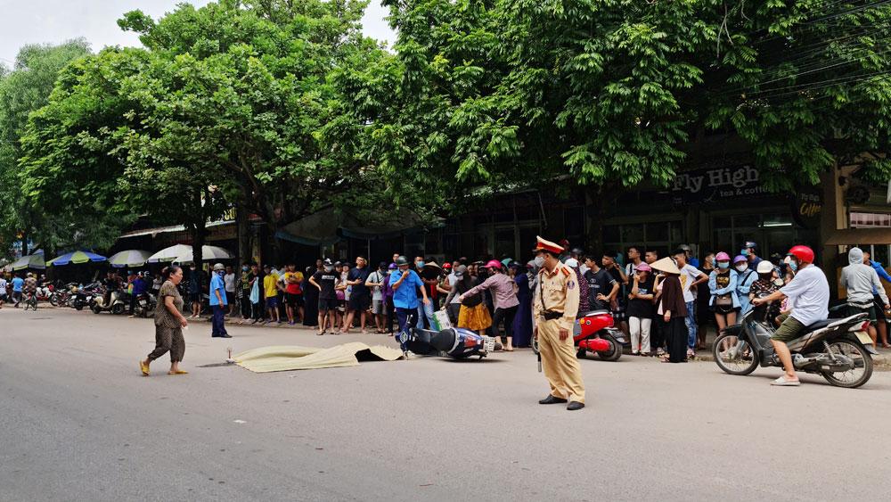 tai nạn giao thông, Bắc Giang, phương tiện giao thông, đánh võng,